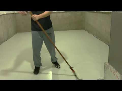 Basement Concrete Epoxy Paint Metallic White & Stone Gray  D9BAC982 92FB 41D2 B987 65A1C5F2221C