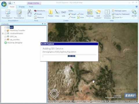 ArcGIS Explorer Quick Start Tutorial