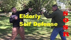 Elderly Self Defense With A Cane