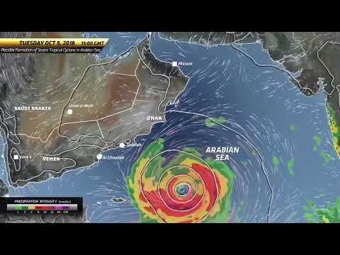 Cyclone Luban hit salalah