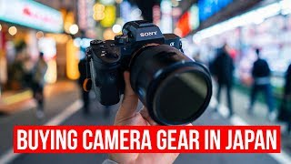 Buying Camera Gear in Japan [FAQ in Description Box]