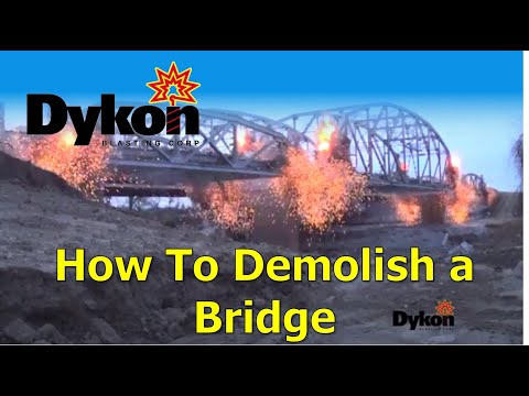 Dykon Bridge Demolition - Highway 169 - Owasso, OK