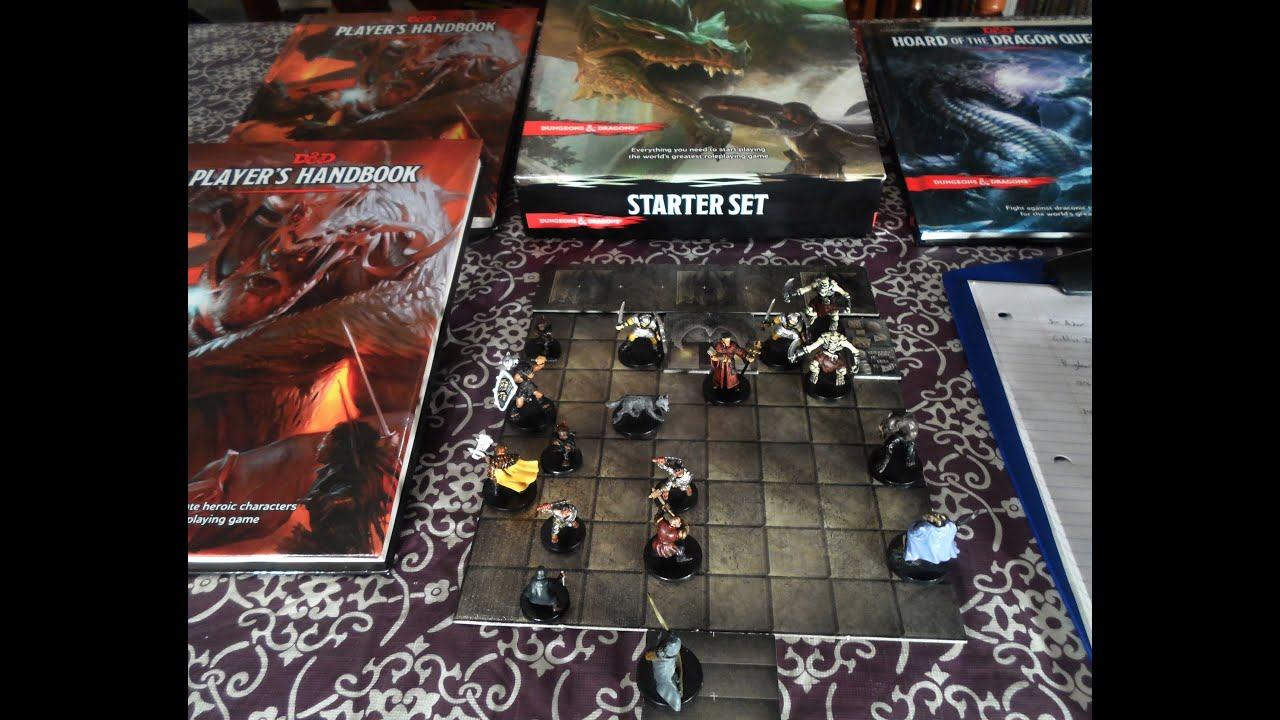 dungeons and dragons play
