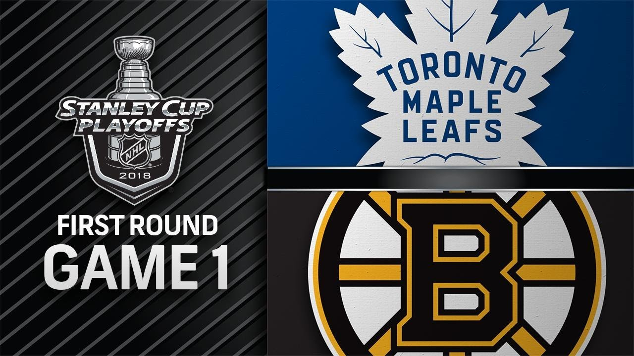 Maple Leafs top Bruins in Game 1