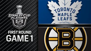 Power play lifts Bruins past Leafs in Game 1, 5-1