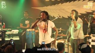 Jah Cure: Video @ Reigen, Vienna , Austria, 17.11.2014