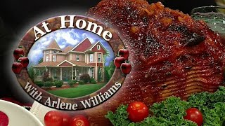 "Arlene and her friends are preparing some holiday meats in this episode!""at home helps viewers get ideas for dinner feel like they have spent time with a..."