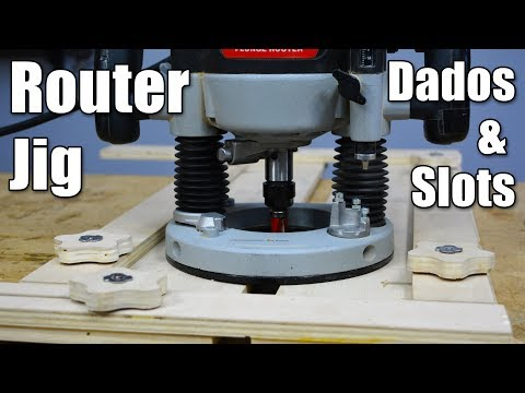 Make the Ultimate Router Jig for Dados & Slots