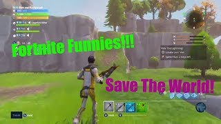 Fortnite Funny PVE [Memes] Hilarious Gameplay Fortnite Save the World