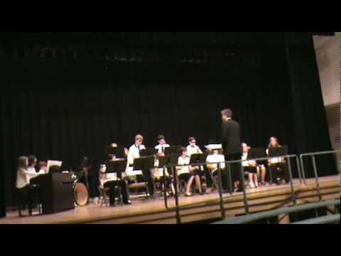 Northbridge Middle School Jazz Band plays Tequila