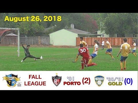 2018 8 26 Porto v SRU Gold