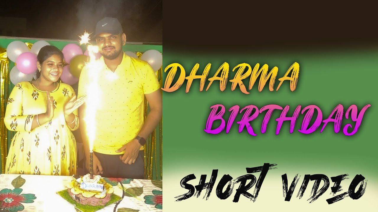 Dharma Birthday Night 12.00 clock Birthday surprise