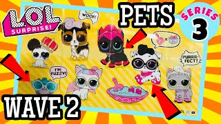 LOL SURPRISE PETS WAVE 2 | ALL PETS REVEALED! DPCI & UPC CODES!! L.O.L SERIES 3 CONFETTI POP