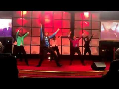 L.O.R.D of Fountain Of Grace ministering Chasing me down by Israel Houghton and  Tye Tribbett