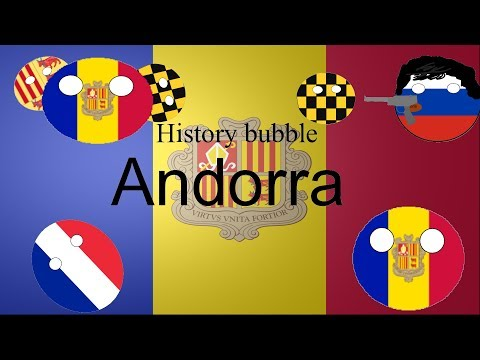 History bubble Andorra