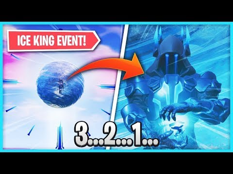 🔴 ICE KING SPHERE EVENT HAPPENING NOW in Fortnite: Battle Royale! (Season 7 SPECIAL EVENT) thumbnail