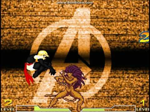 MS Marvel VS Cheetah