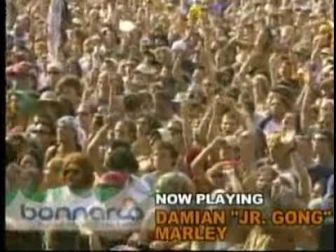"Damian Marley ""Jr. Gong"" - Welcome To Jamrock LIVE @ Bonnaroo 2006"