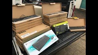 Dumpster Diving 31 (Over 30 Brand New Keyboards!)