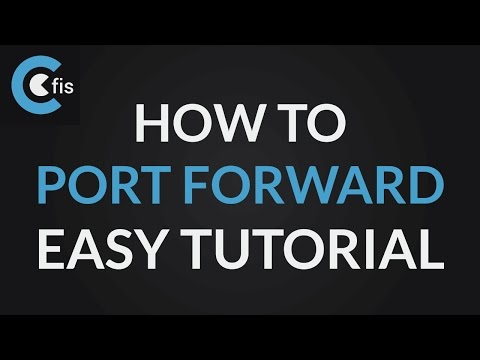 HOW TO PORT FORWARD (EASY TUTORIAL) - Steam online games tutorial
