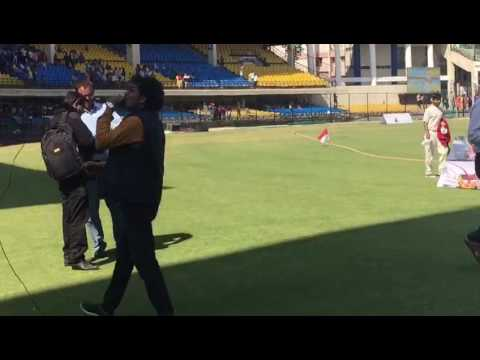superb performance in blind cricket T20 world cup match IND VS ENG