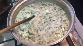 Как приготовить Довгу . Азербайджанская кухня | Dovga hazirlanmasi