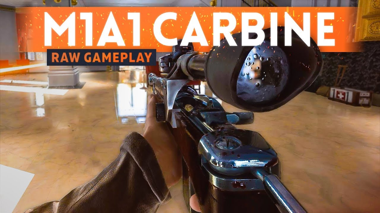 7 MINUTES OF RAW M1A1 CARBINE GAMEPLAY! - Battlefield 5 Rotterdam Map  Footage (Open Beta)