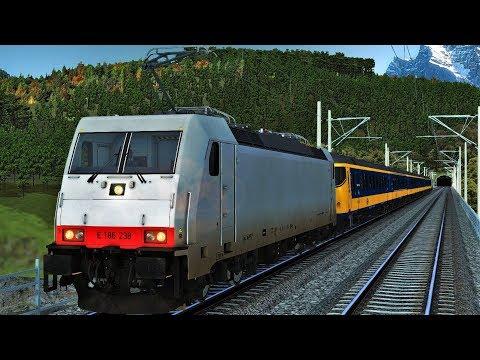 Let's Play Train Simulator 2018 | ETCS BR186 Chris Trains | Im Köblitzer Bergland 3 Reloaded | NS