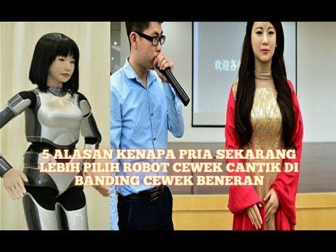 Fakta.. 5 Alasan Pria di Jepang Sekarang Lebih Pilih Robot Cewek Cantik Di Banding Cewek Beneran