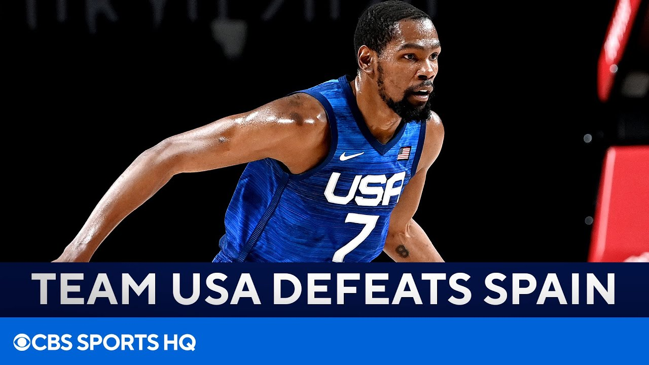 Download Team USA Basketball Defeats Spain to Advance to Men's Semifinals | Tokyo Olympics | CBS Sports HQ