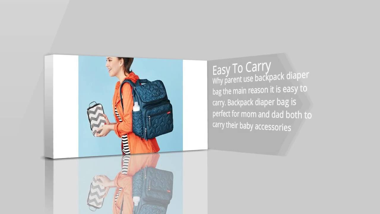 why you use best backpack diaper bag?