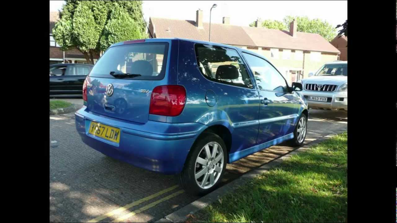 2001 volkswagen polo blue - youtube