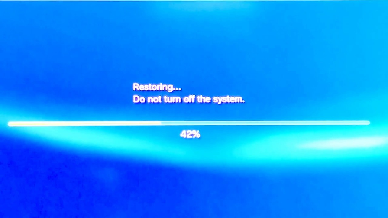 How to fix PS3 Freezing problem fix: RESTORE FILE SYSTEM