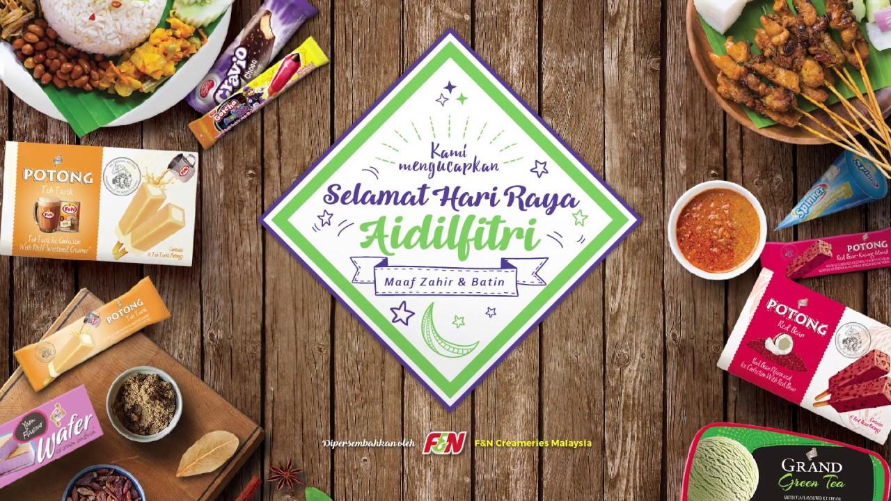 F N Creameries Malaysia 5 Persiapan Hari Raya Youtube