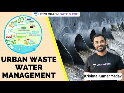 Urban Wastewater Management | Wastewater Treatment | Gate/ESE 2021 Exam | Krishna Kumar Yadav