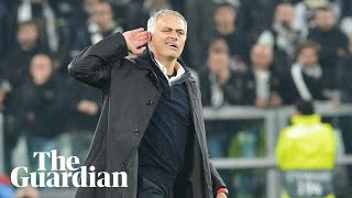 José Mourinho defends hand gesture after 'fantastic' win over Juventus