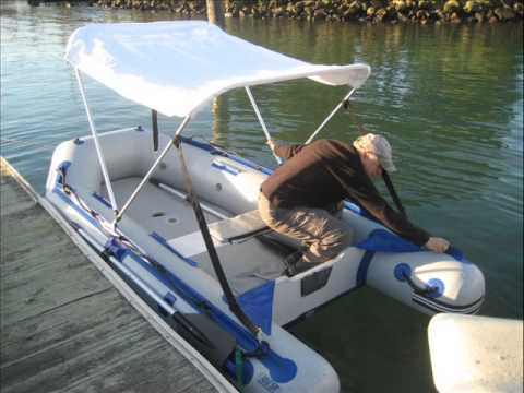 Assembly of Electric-Solar Powered Inflatable Dinghy