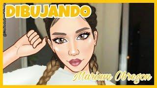 DIBUJANDO A MARIAM OBREGON | SpeedPaint | No Todo Son Dibujos
