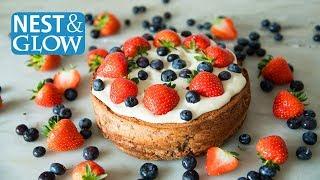 Fast Chickpea StrawberryCake Recipe