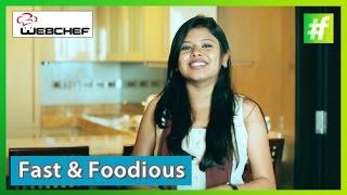 #fame food - When Sneha Dutta Received a Video Message from Vir Sanghvi