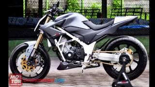 Modifikasi Motor Honda CB150R Mp3