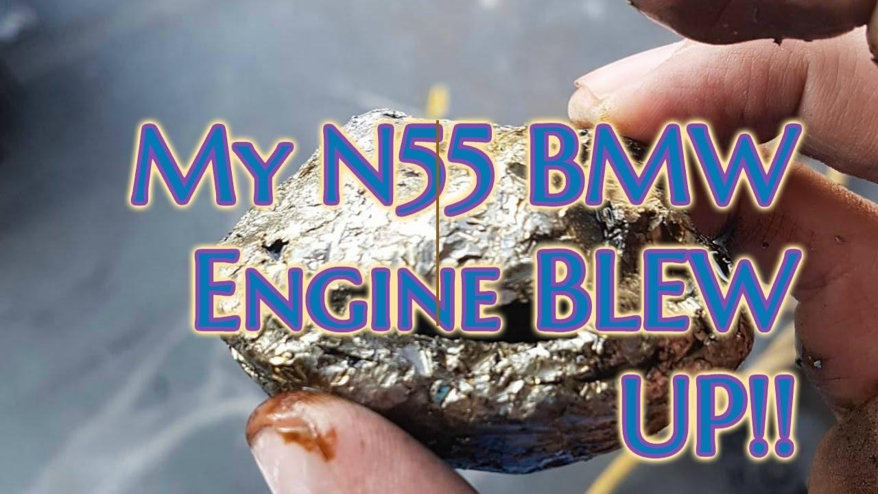 My 2012 535 BMW N55 Engine blew up!!