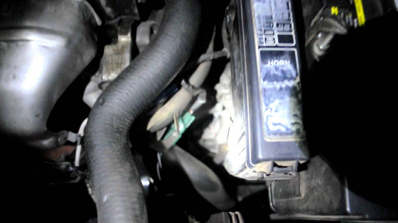 2011 Altima Fuse Box Diagram 2002 Nissan Altima Starting Issues Youtube