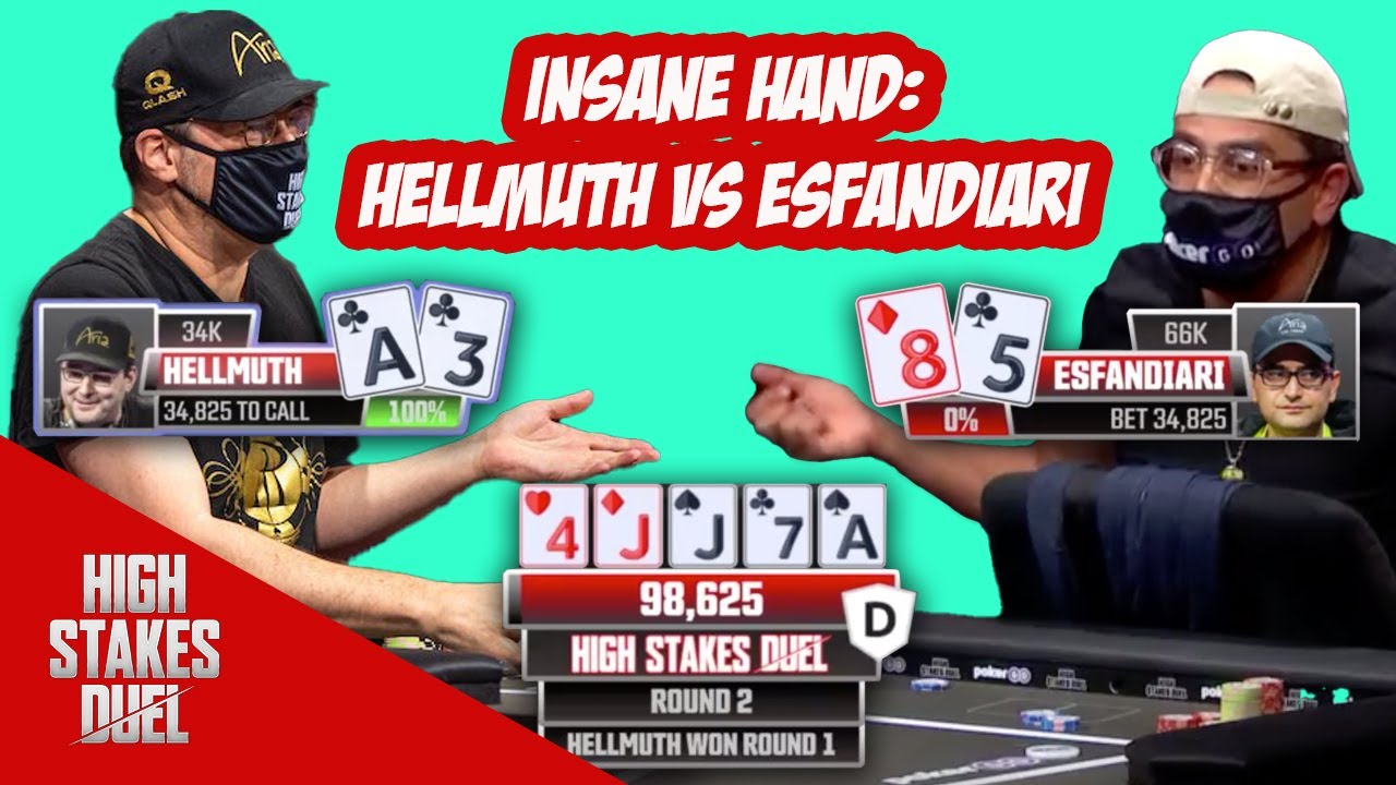 INSANE Bluff Backfires? Can you believe it?!   High Stakes Duel