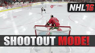 NHL 16 SHOOTOUT MODE! vs CanadianDuke
