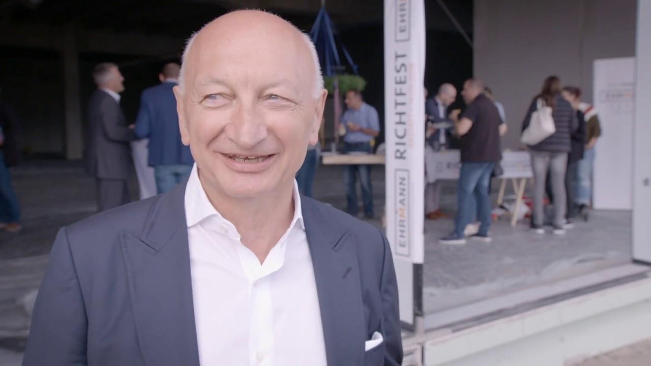 Richtfest Des Ehrmann Einrichtungshauses In Rastatt Youtube