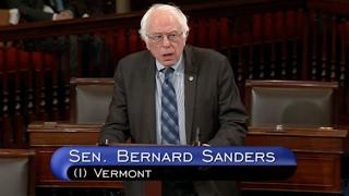 Bernie Sanders Opposes Trump HHS Nominee Price- Full Speech