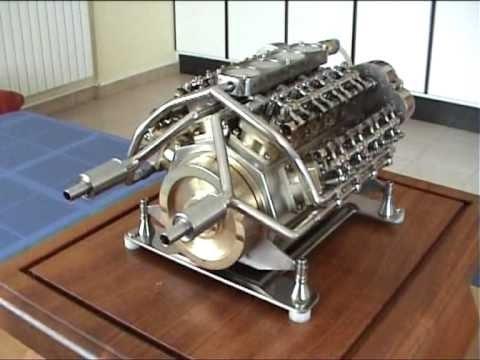 Самый маленький V16 в мире.(Smallest V-16 engine of the world)