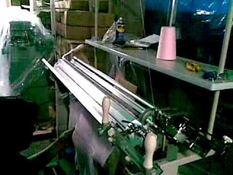 maquina de tejer manual industrial youtube On maquina para tejer alfombras