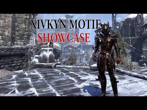 Eso Xivkyn Motif Showcase Youtube